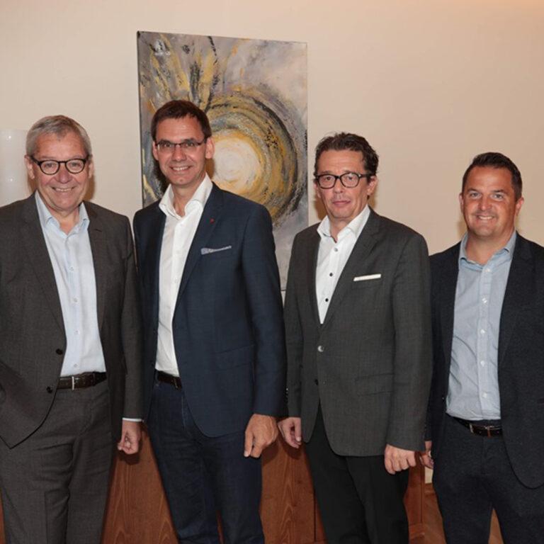 Karlheinz Rüdisser, Markus Wallner, Hans-Peter Metzler, Jürgen Kessler
